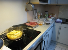 Doppelt frittiert schmecken Pommes Frites am besten.