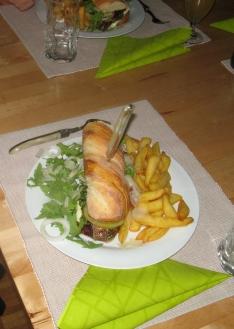 Italian Job Burger
