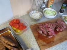 Das Fleisch im Mr. Big war ein argentinisches Rump´s Heart/Herz der Hüfte/Coeur de Rumpsteak/Corazon de Cuadril.