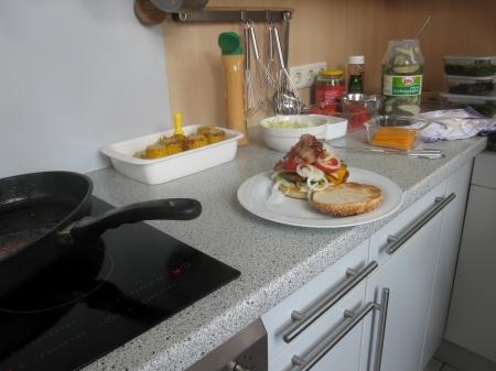 Angus Burger in Vorbereitung.