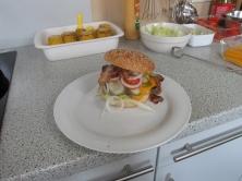 Angus Burger als Nachschlag auf speziellen Wunsch.