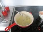 Der Roux ist fertig für die Béchamel-Sauce.