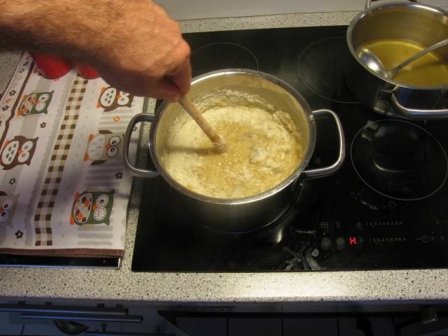Verfeinerung mit Parmesan