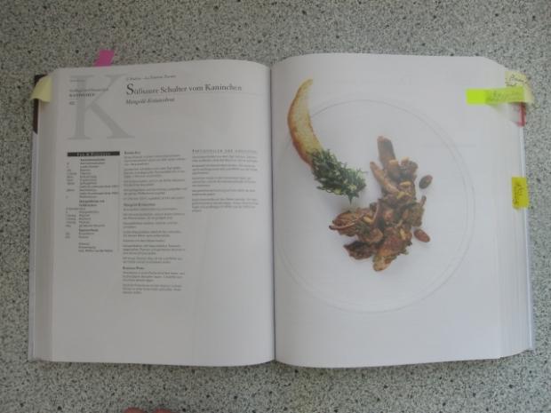 Originalseite aus dem Kochbuch. Unterschiede sind bemerkbar.