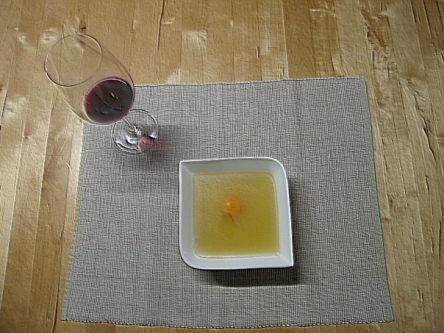 Das Weinglas war für mich. Ich war ja schließlich nicht krank.
