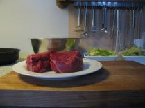 Mignon-Steaks vom brasilianischen Rind
