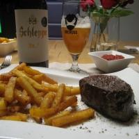 Fußballabend - Steak & Bier