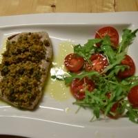 Gebratener Thunfisch mit Gremolata