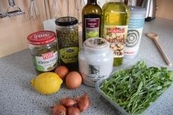 Zutaten Sauce Tatar