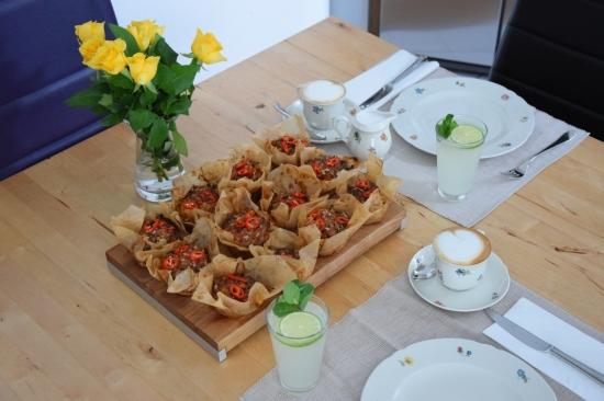 Süßkartoffel-Muffins mit Chili Title