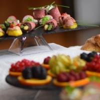 Kalte Platten mit Roastbeef und Schweinslungenbraten