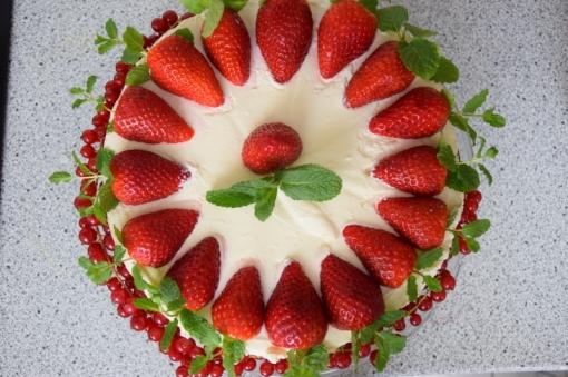 Erdbeer-Käsekuchen 2