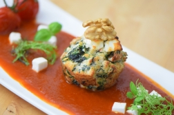 Semmelknödelmuffins mit Tomatensauce (13)