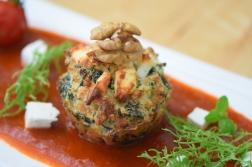 Semmelknödelmuffins mit Tomatensauce (14)