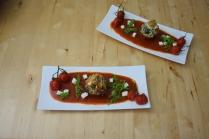 Semmelknödelmuffins mit Tomatensauce (19)
