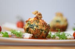 Semmelknödelmuffins mit Tomatensauce (24)