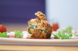 Semmelknödelmuffins mit Tomatensauce (27)