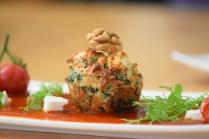 Semmelknödelmuffins mit Tomatensauce (30)