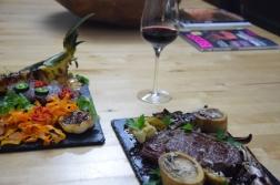 Bison mit gebratenem Radicchio-Artischocken-Salat (13)