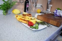 Bison mit gebratenem Radicchio-Artischocken-Salat (7)