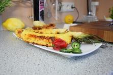 Bison mit gebratenem Radicchio-Artischocken-Salat (8)
