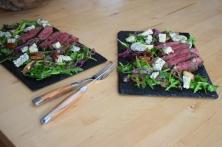 Bisonsteak mit Pekannüsse-Rucola-Salat (14)