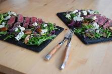 Bisonsteak mit Pekannüsse-Rucola-Salat (17)