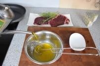 Bisonsteak mit Pekannüsse-Rucola-Salat (3)