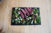 Bisonsteak mit Pekannüsse-Rucola-Salat (6)