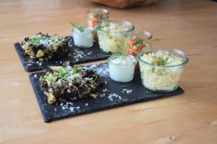 Blunzn-Gröstl mit Salsa (11)