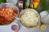 Blunzn-Gröstl mit Salsa (2)