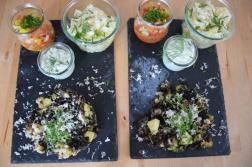 Blunzn-Gröstl mit Salsa (8)