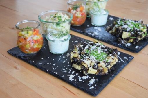 Blunzn-Gröstl mit Salsa (9)