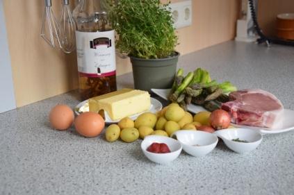 Grüner Spargel mit Sauce Choron (1)