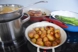 Grüner Spargel mit Sauce Choron (3)