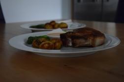 Grüner Spargel mit Sauce Choron (6)