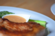 Grüner Spargel mit Sauce Choron (7)