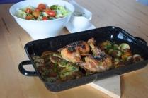 Hühnerkeulen Ofen-Erdapfelscheiben (3)
