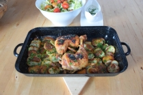 Hühnerkeulen Ofen-Erdapfelscheiben (4)