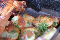 Hühnerkeulen Ofen-Erdapfelscheiben (8)