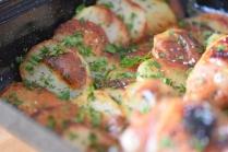 Hühnerkeulen Ofen-Erdapfelscheiben (9)