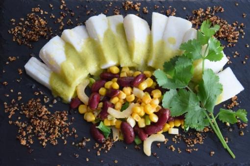 Heilbutt-Ceviche mit Stangensellerie-Passionsfrucht-Sauce (12)