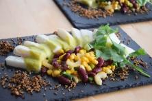 Heilbutt-Ceviche mit Stangensellerie-Passionsfrucht-Sauce (13)