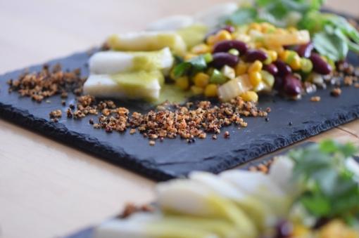 Heilbutt-Ceviche mit Stangensellerie-Passionsfrucht-Sauce (20)