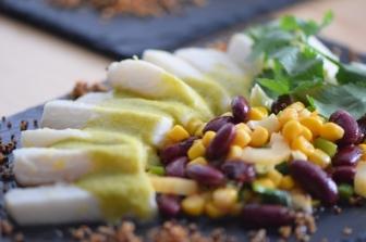 Heilbutt-Ceviche mit Stangensellerie-Passionsfrucht-Sauce (21)