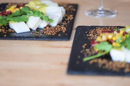 Heilbutt-Ceviche mit Stangensellerie-Passionsfrucht-Sauce (23)