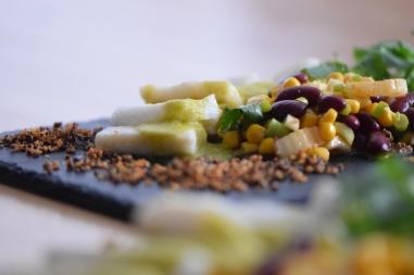 Heilbutt-Ceviche mit Stangensellerie-Passionsfrucht-Sauce (26)