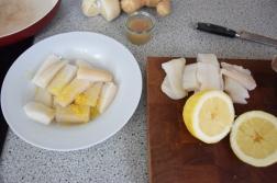 Heilbutt-Ceviche mit Stangensellerie-Passionsfrucht-Sauce (6)