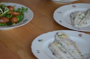 Maischolle mit Kartoffel-Erbsen-Salat (10)