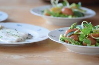 Maischolle mit Kartoffel-Erbsen-Salat (11)
